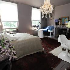 面积125平别墅卧室现代装饰图片大全