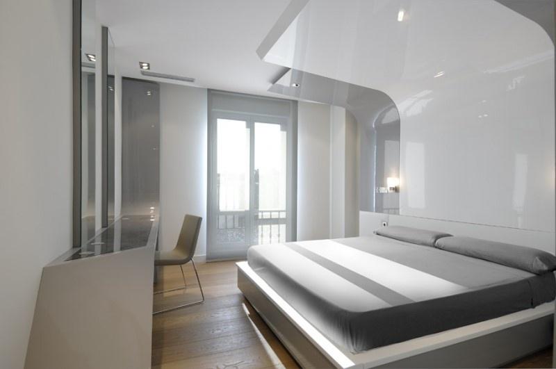 精选面积110平复式卧室混搭装修图片