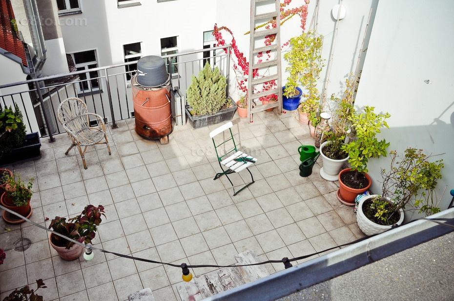 北欧风格花园装修效果图大全2014图片