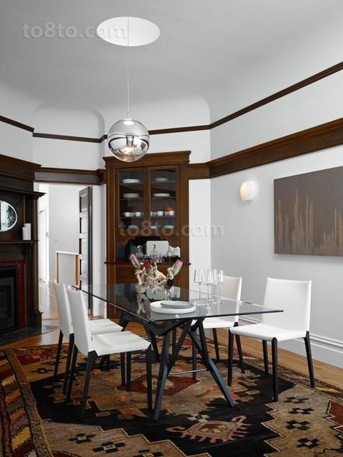 30万打造宜家现代风格三居餐厅装修效果图