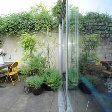 116平米现代别墅阳台装修设计效果图
