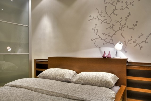 25万打造宜家清新现代风格卧室装修效果图大全2014图片