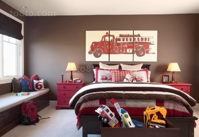 2室1厅温馨舒适的欧式卧室装修效果图