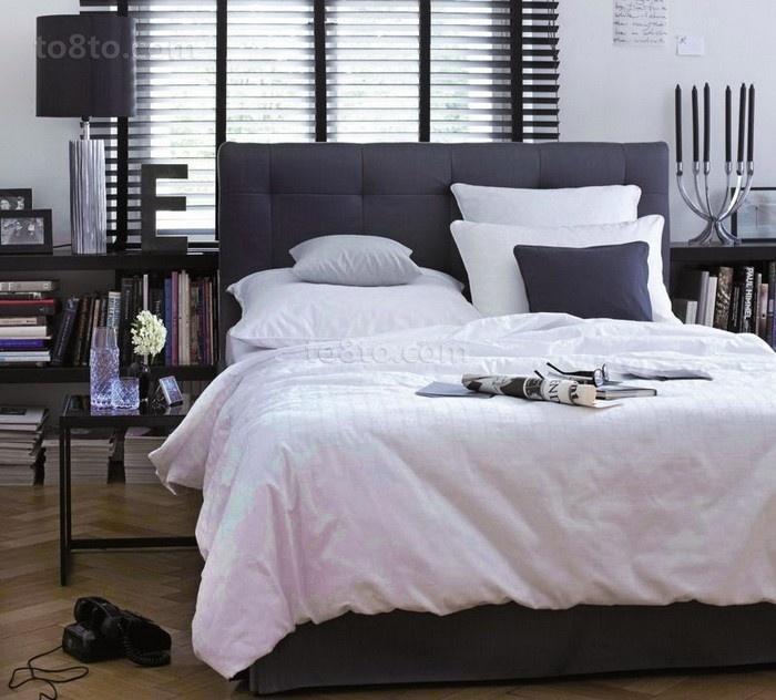 28万全包装修现代时尚的复式卧室装修