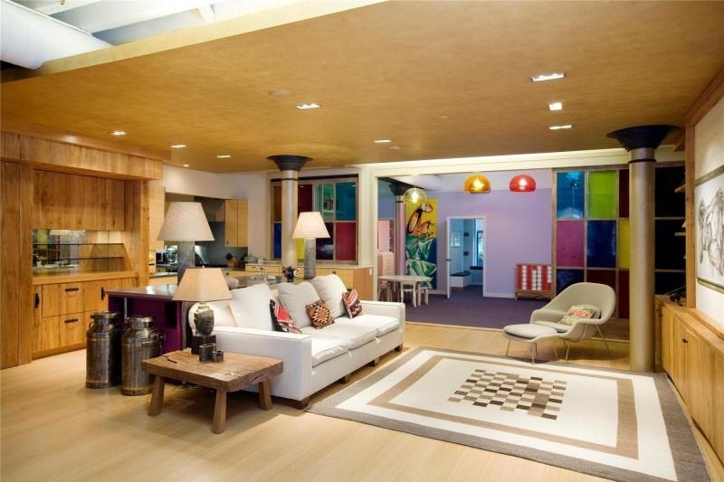 热门144平方四居客厅混搭装修实景图片