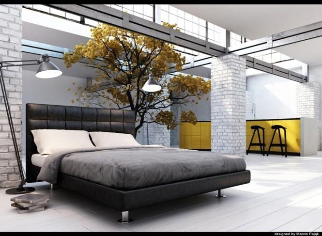 18万打造浪漫清新简约风复式卧室装修效果图大全2014图片
