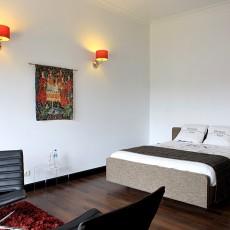 2018面积83平小户型卧室混搭效果图片