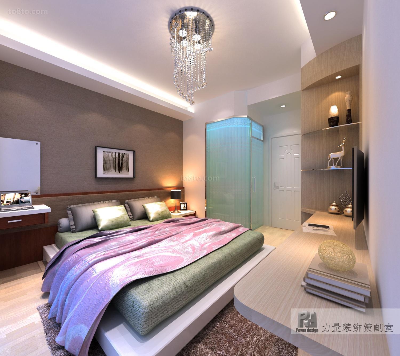 面积124平复式卧室欧式设计效果图