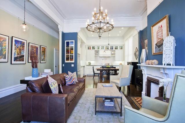 81平米混搭小户型客厅装修设计效果图片欣赏