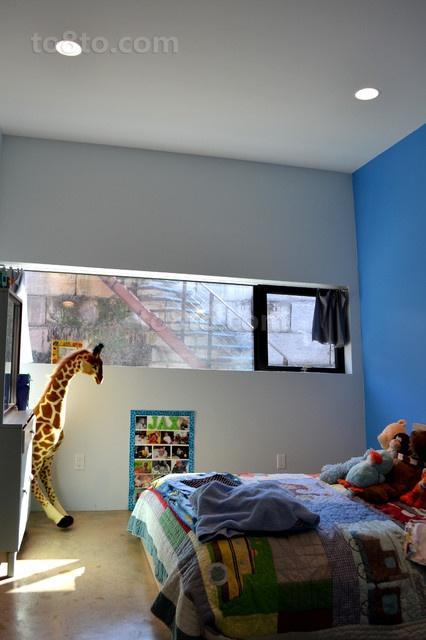 89平米小户型地中海风格可爱的卧室装修效果图