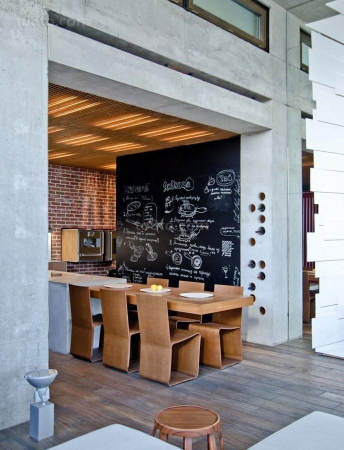 高档别墅现代风格餐厅装修效果图