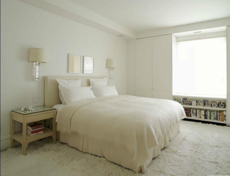 17万打造清新简欧风格三居卧室装修效果图大全2014图片