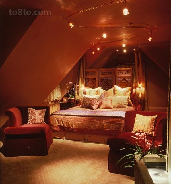 17万打造儒雅中式风格卧室吊顶装修效果图大全2012图片