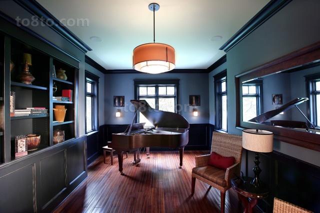 2室1厅浪漫地中海风情书房装修效果图
