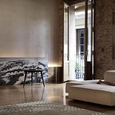 精选99平米三居卧室混搭效果图片