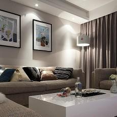 热门77平米二居客厅混搭效果图片欣赏