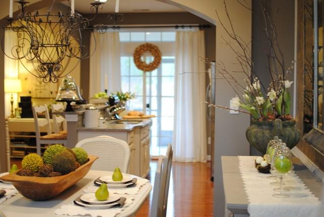 精美面积72平小户型厨房混搭装修欣赏图