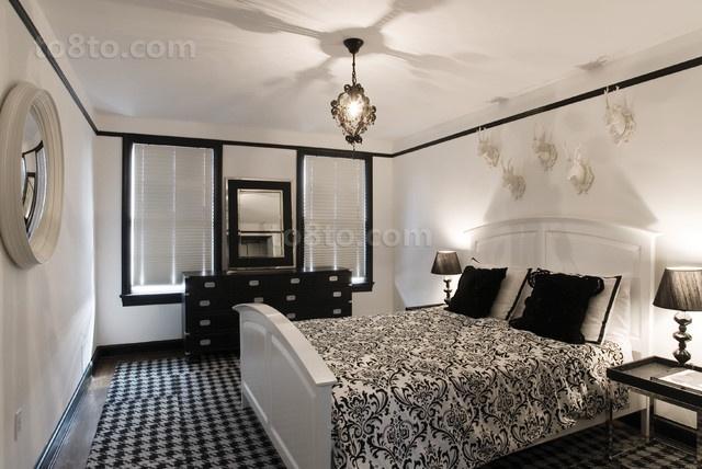 10万打造温馨欧式风格卧室装修效果图大全2014图片