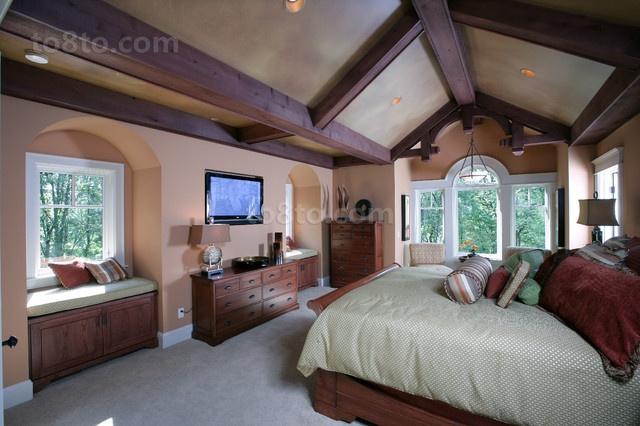 2室1厅浪漫地中海风情卧室装修效果图