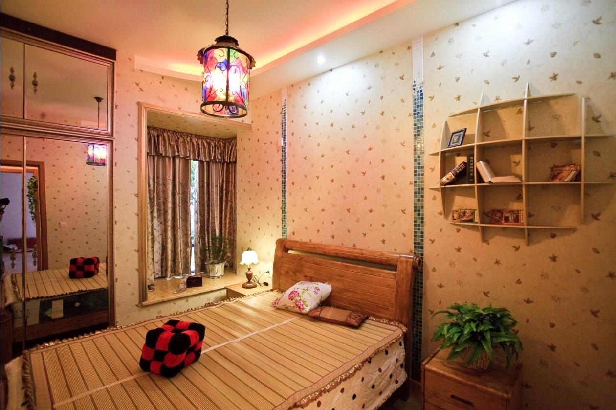 3室2厅1卫卧室吊顶装修效果图