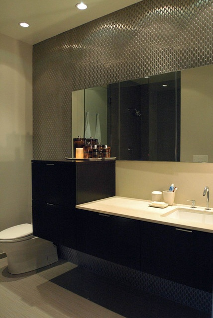 面积88平小户型卫生间混搭装修图