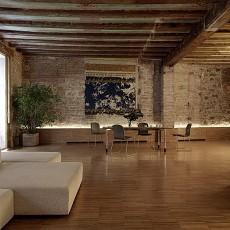 2018精选100平米3室客厅混搭装修效果图片