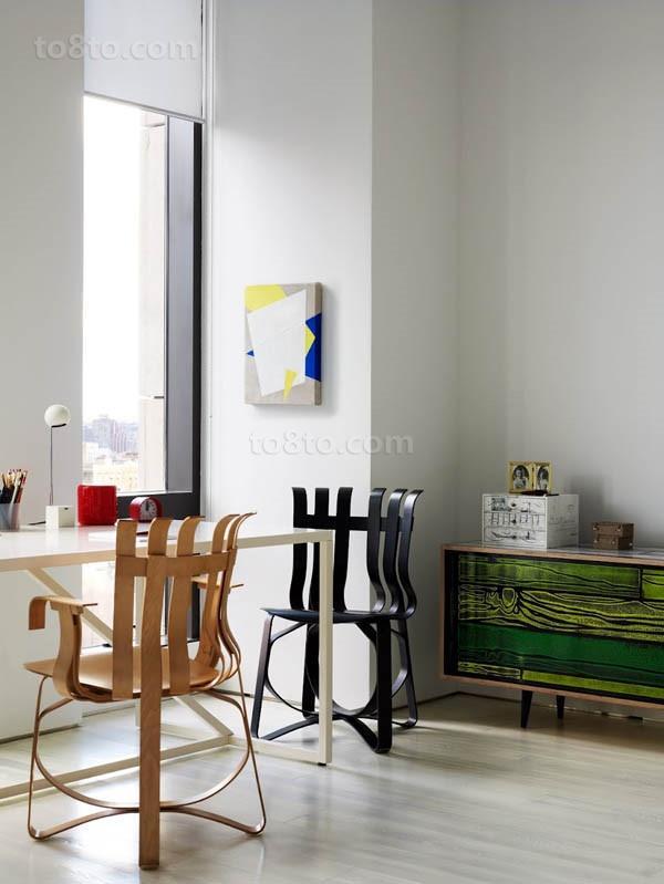 二室二厅简约自然的书房装修效果图大全2014图片
