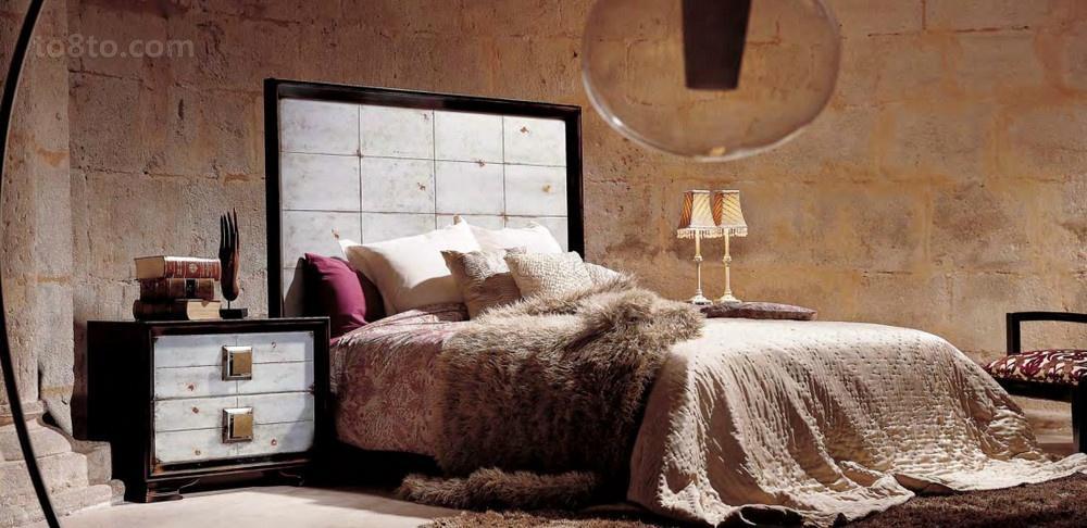 130平三居房现代时尚的卧室装修效果图