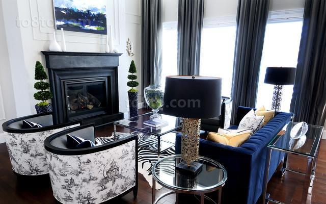 17万打造温馨奢华欧式风格二居客厅装修效果图大全2014图片