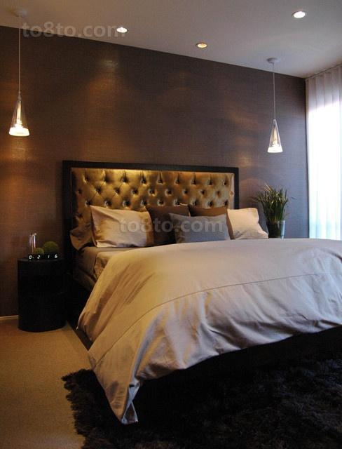 12万打造温馨浪漫欧式风格小户型卧室吊顶装修效果图大全2012图片