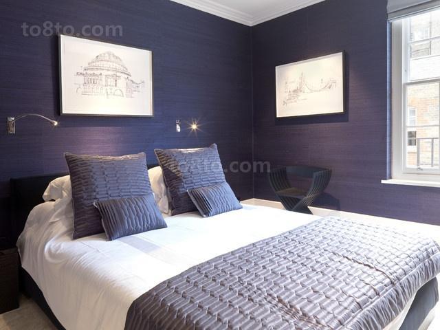 2013小复式地中海卧室装修效果图