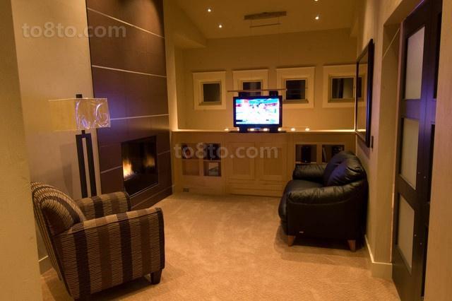 40万打造豪华欧式风格复式客厅装修效果图大全2014图片