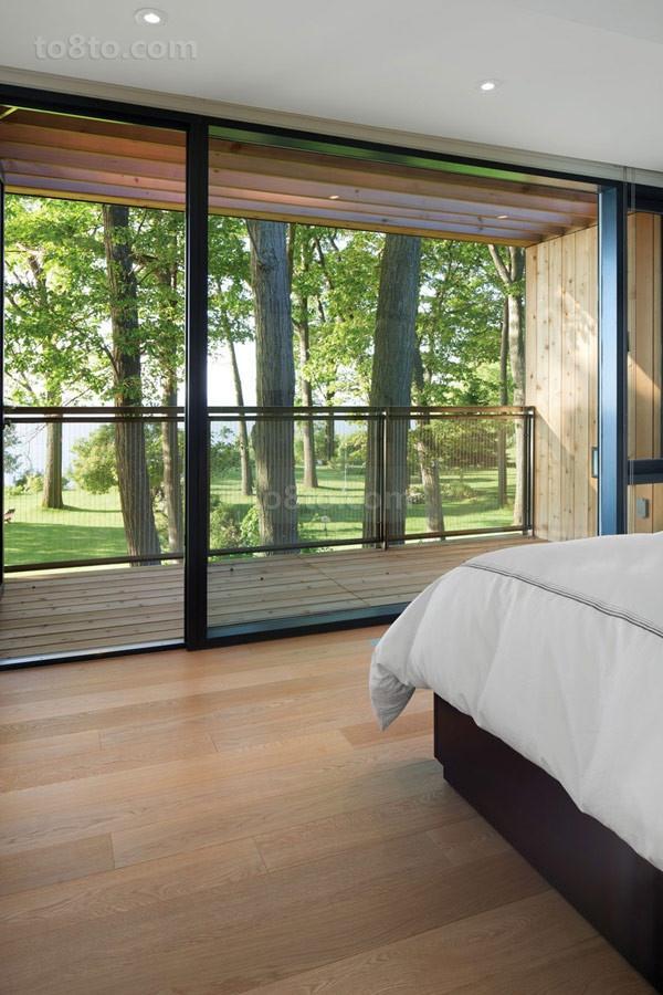 200万打造经典北欧风格卧室飘窗装修效果图大全2014图片