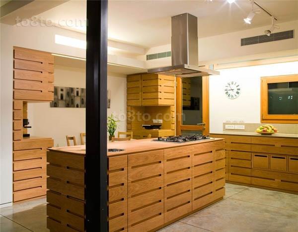 30万打造奢华欧式风格厨房橱柜装修效果图大全2014图片