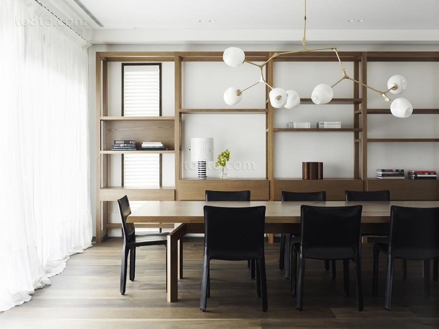150万打造浪漫温馨简约风格餐厅博古架装修效果图大全2012图片