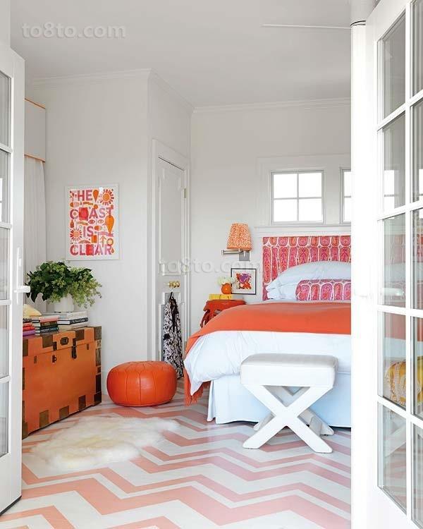 180万打造清新现代风格卧室装修效果图大全2014图片