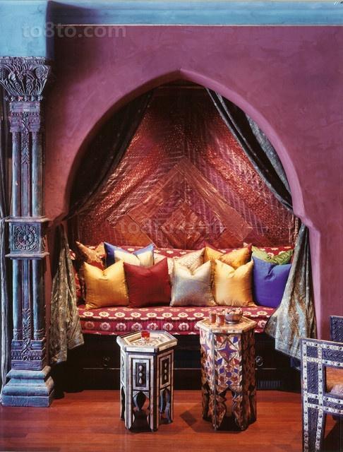绝美的东南亚小户型卧室装修效果图大全