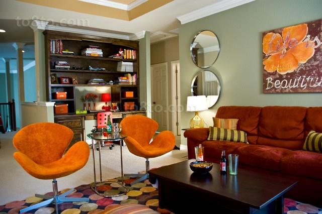 12万打造时尚欧式风格客厅装修效果图大全