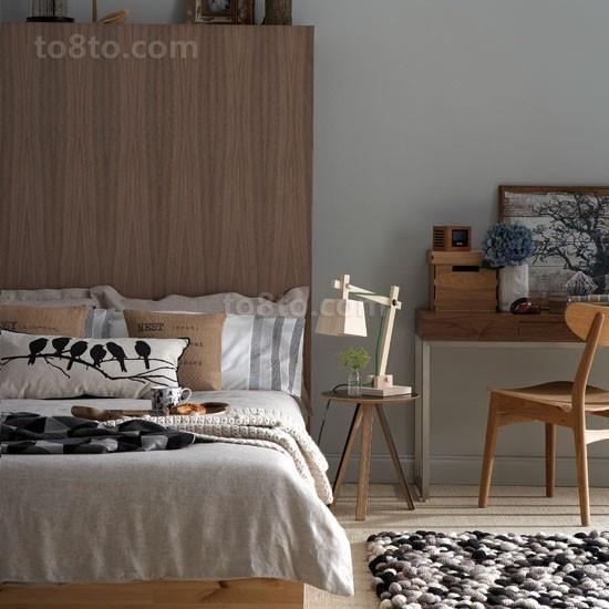 70㎡小户型简约宜家风格卧室装修效果图