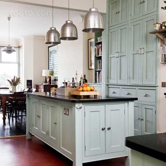 80㎡小户型打造北欧风情厨房橱柜装修效果图大全