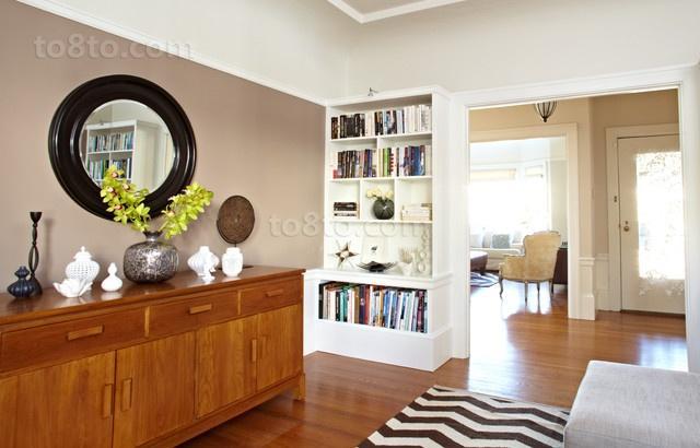 78平米小户型现代简欧风格书房装修效果图