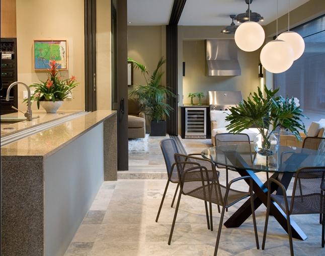 3室2厅现代风格餐厅隔断装修效果图大全2014图片