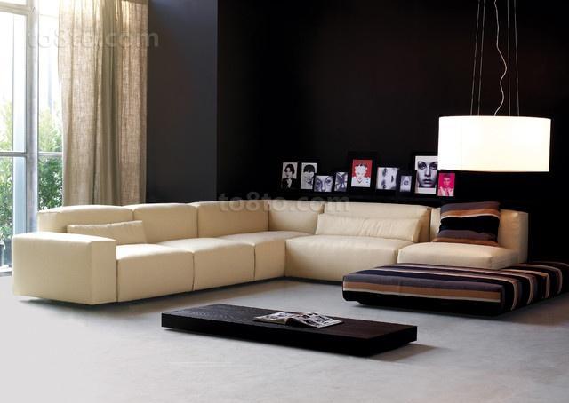 简约风格创意客厅装修效果图大全2014图片