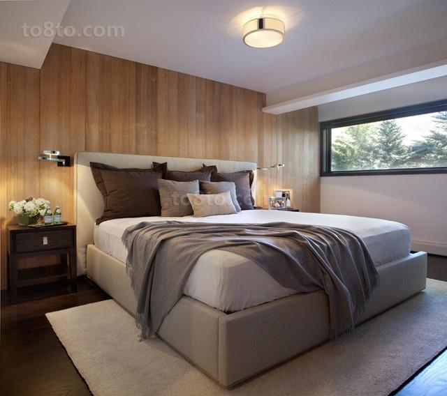 34万打造温馨舒适现代风格卧室吊顶装修效果图大全2014图片