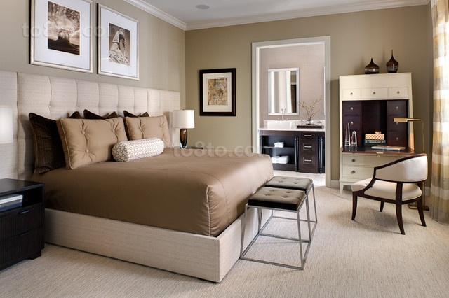 85平米小户型轻松打造欧式风格卧室装修效果图