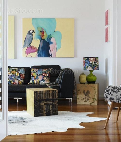 两室一厅现代简约风格装修效果图