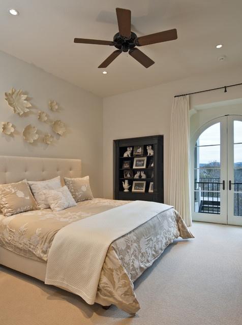 23万打造现代美式风卧室装修设计效果图