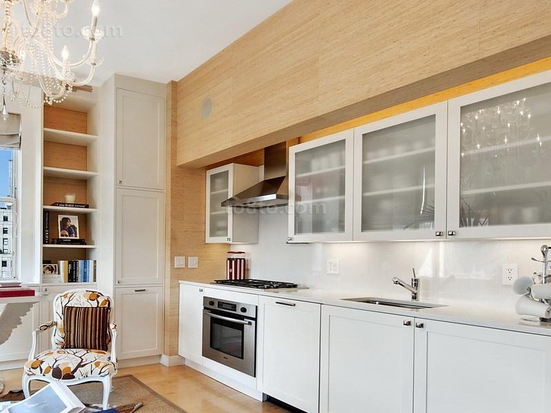 20万打造简约清新欧式厨房橱柜装修效果图大全