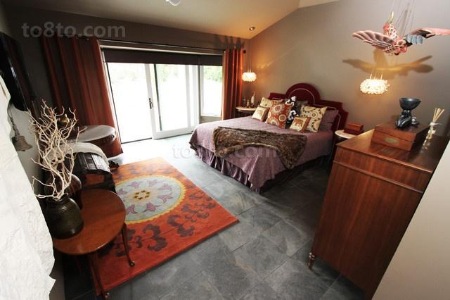 13万打造温馨美式风格卧室装修效果图大全2014图片