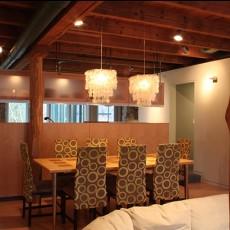 简约家庭餐厅吊顶效果图